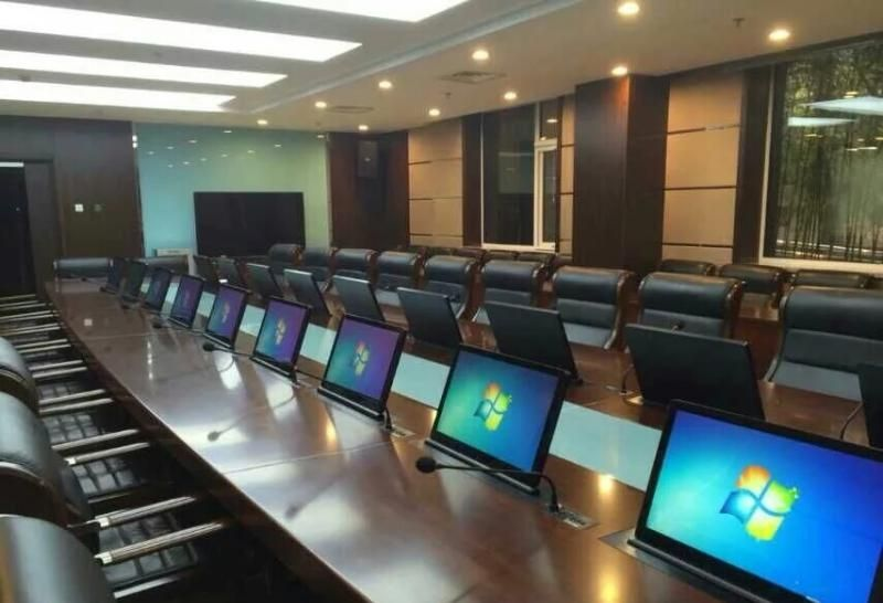 南宁市电子学会与熙雅盟达成75寸会议平板定制采购合作